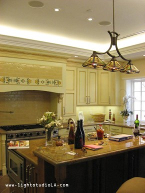 Residential Lighting for Bel Air Chateau